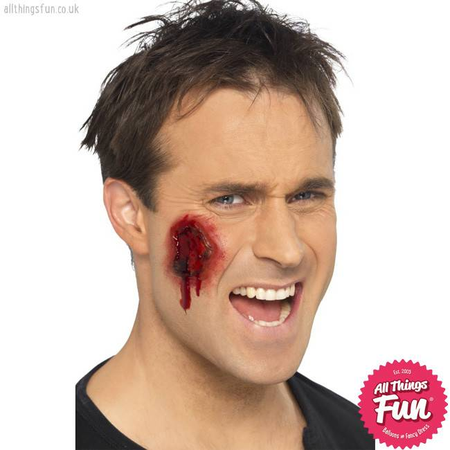 Smiffys *SP* Gory Wounds, Skin Coloured