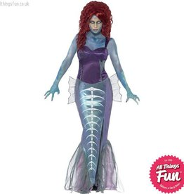 Smiffys Zombie Mermaid Costume