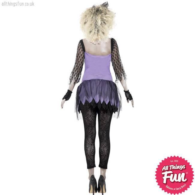 Smiffys Zombie 80's Wild Child Costume