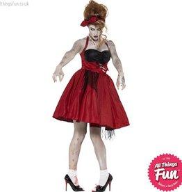 Smiffys Zombie 50's Rockabilly Costume