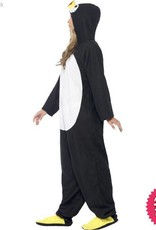 Smiffys Adult All in One Penguin Costume