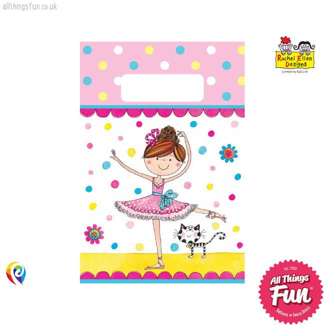 Pioneer Balloon Company Party Bags - Ballerina