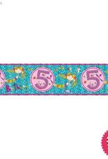Pioneer Balloon Company Foil Banner - Age 5 Mermaid