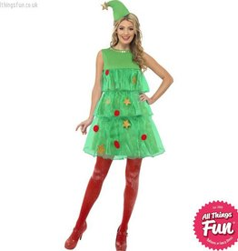 Smiffys Christmas Tree Tutu Costume