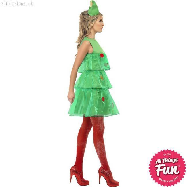 Smiffys Christmas Tree Tutu Costume