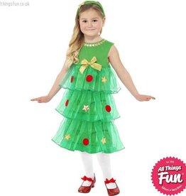 Smiffys Little Christmas Tree Costume