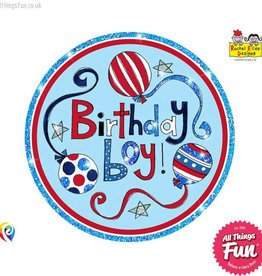 Pioneer Balloon Company Fliter Badge - Birthday Boy
