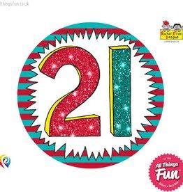 Pioneer Balloon Company Fliter Badge - Age 21 Wow