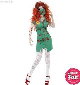 Smiffys Zombie Scrub Nurse Costume