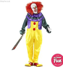 Smiffys *Star Buy* Classic Horror Clown Costume