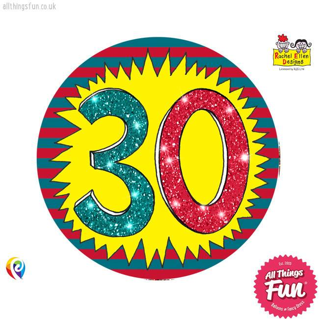 Pioneer Balloon Company Fliter Badge - Age 30 Wow
