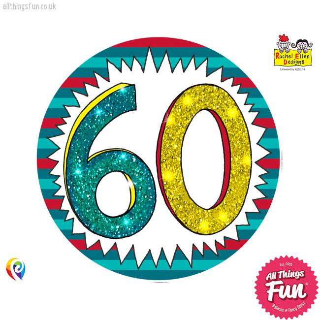 Pioneer Balloon Company Fliter Badge - Age 60 Wow