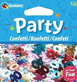 Pioneer Balloon Company Confetti - Age 40 Multi-Coloured Birthday