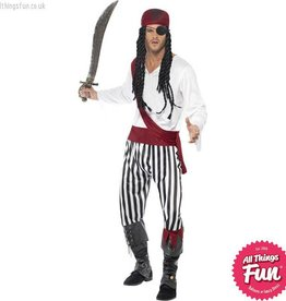 Smiffys Pirate Man Costume