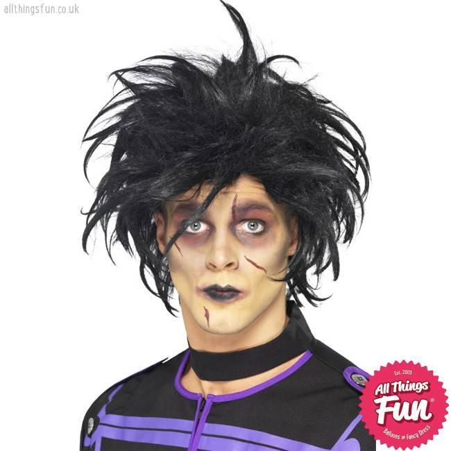 Smiffys Black Psycho Wig