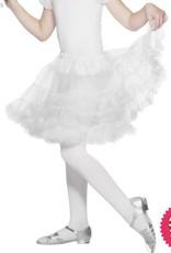Smiffys Girls White Layered Petticoat