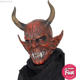 Smiffys Devil Demon Overhead Latex Mask