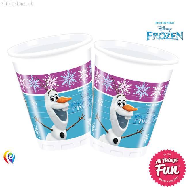 Procos Disney Frozen - Party Plastic Cups 8Ct