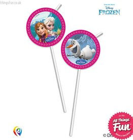Procos *DISC* Disney Frozen - Drinking Straws 6Ct