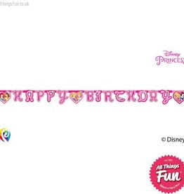 Procos Disney Princess - Banner 1Ct - Happy Birthday