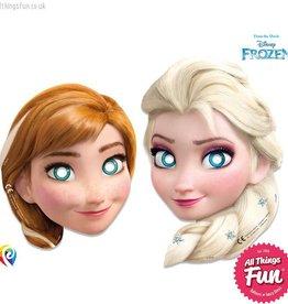 Procos Disney Frozen - Party Masks 6Ct