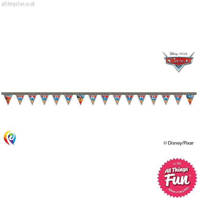 Procos *DISC* Disney Cars - Banner 1Ct - Happy Birthday