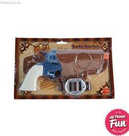 Smiffys Western Water Pistol, Single Gun