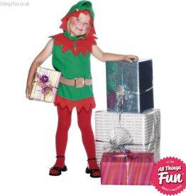 Smiffys *DISC* Elf Toddler Costume