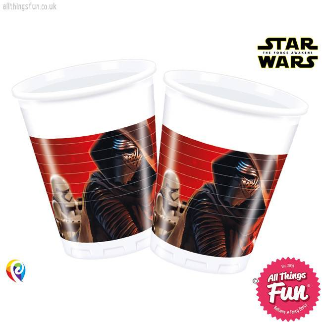 Procos *DISC* Star Wars The Force Awakens - Party Plastic Cups 8Ct