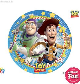 Procos *DISC* Toy Story Star Power - Party Paper Plates 8Ct