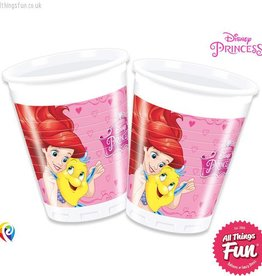 Procos Disney Princess - Party Plastic Cups 8Ct