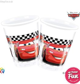 Procos *DISC* Disney Cars - Party Plastic Cups 8Ct