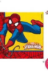 Procos *DISC* Ultimate Spiderman - Party Napkins 20Ct