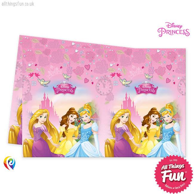 Procos Disney Princess - Party Table Cover 1Ct
