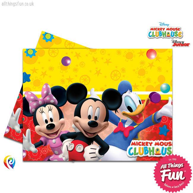 Procos Playful Mickey - Party Table Cover 1Ct