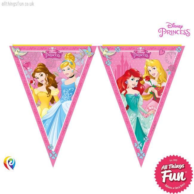 Procos Disney Princess - Banner - Triangle Flag (9)