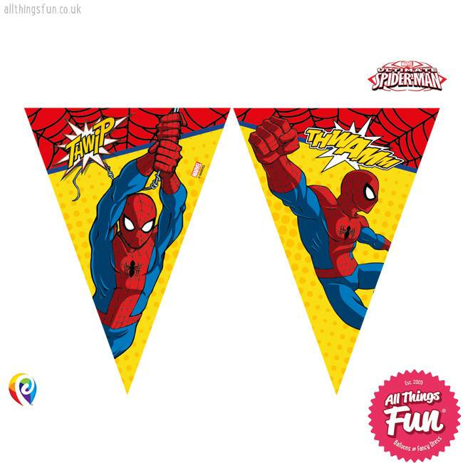 Procos *DISC* Ultimate Spiderman - Banner - Triangle Flag (9)