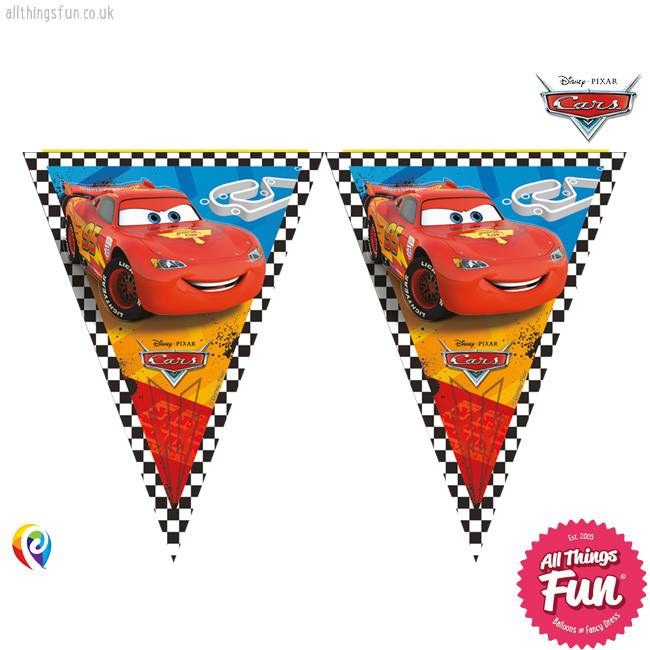 Procos *DISC* Disney Cars - Banner - Triangle Flag (9)