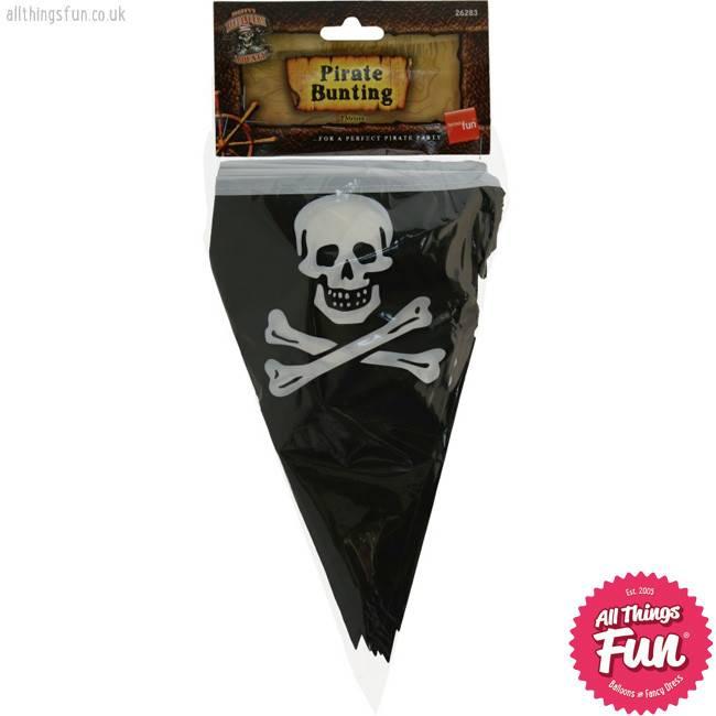 Smiffys *DISC* Pirate Bunting