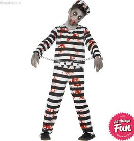 Smiffys Child's Zombie Convict Costume