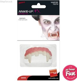 Smiffys Horror Vampire Teeth Soft Vinyl