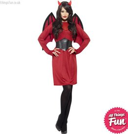 Smiffys Female Devil Costume
