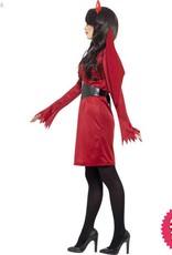 Smiffys Female Devil Costume
