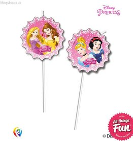 Procos *DISC* Disney Princess - Drinking Straws 6Ct