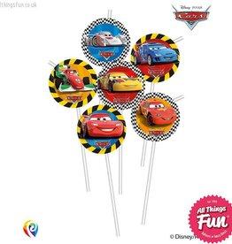 Procos *DISC* Disney Cars - Drinking Straws 6Ct