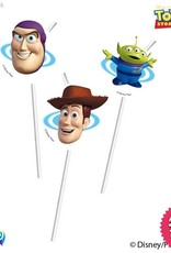 Procos *DISC* Toy Story Star Power - Drinking Straws 6Ct
