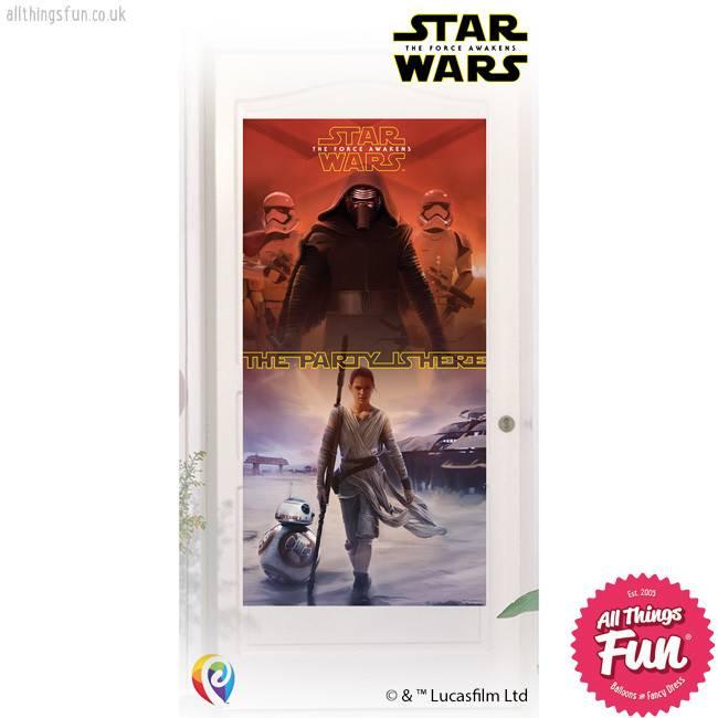 Procos *DISC* Star Wars The Force Awakens - Door Banner 1Ct