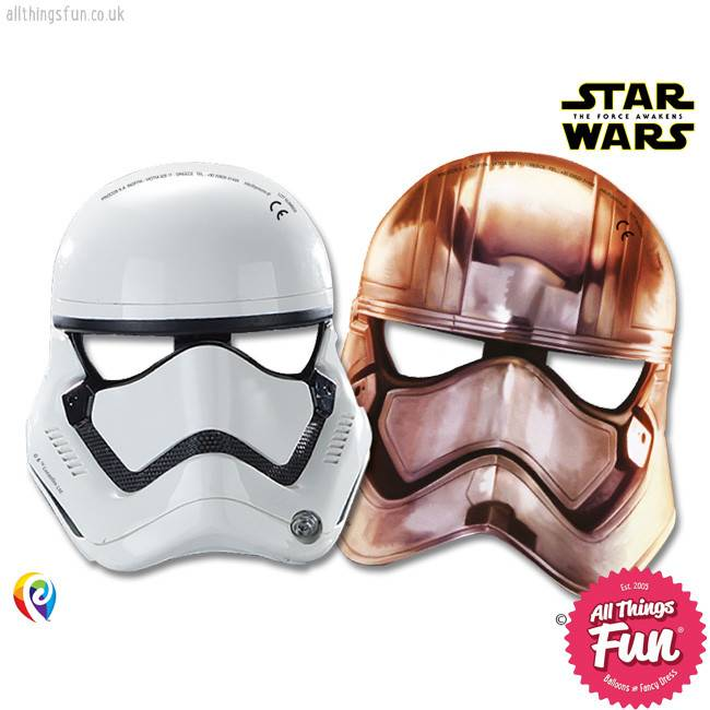 Procos Star Wars The Force Awakens - Party Masks 6Ct