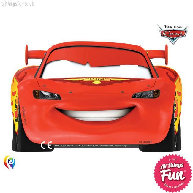 Procos Disney Cars - Party Masks 6Ct