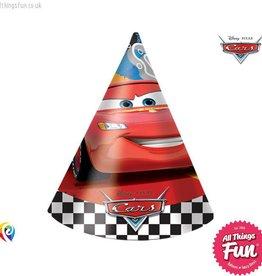 Procos Disney Cars - Party Hats 6Ct
